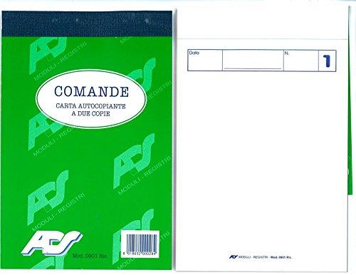 Bonbuch Doppel kopieren ricalcante 25Module cm.10x 15–10Stück