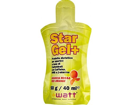 +Watt Star Gel+ 40 ml gusto Arancia Rossa (25)