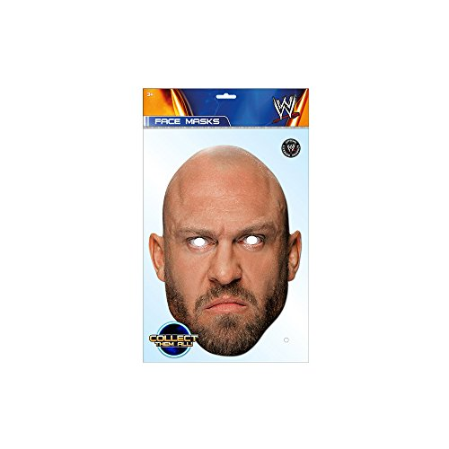 Ryback WWE Mask, Mask-arade Face Card Mask, Character Fancy Dress