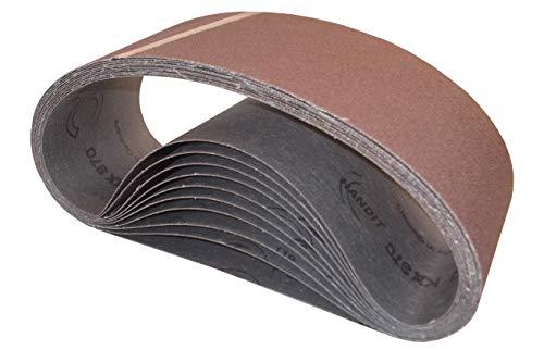 Bandas de lija HANDIT 100X690 mm. (GRANO 60, 10 UNIDADES)