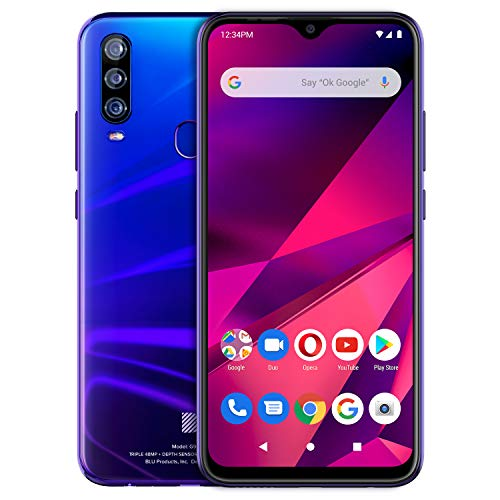 BLU G9 PRO |2020| All Day Battery | Unlocked | US Version | US Warranty | 4/128GB | Nightfall