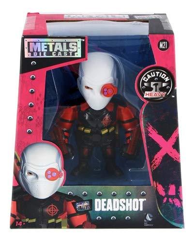 Figura Jada Metal Die Cast Dc Comics Deadshot M21 Dtc 3874