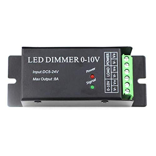 KANJJ-YU DC5V 24V 8A Anodo Comune LED Dimmer Controller per Singolo Colore Striscia Luce Lampada Luci di Natale