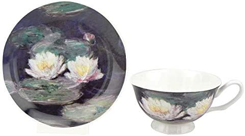 McIntosh Claude Monet Max 51% OFF Water Lilies Fine China 4.3 Today's only Bone Tea oz