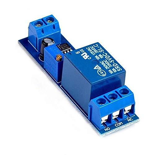 YINGGEXU Relé Nuevo conmutador monoestable NE555 Interruptor del retardo del relé de retardo Módulo (5V) Eléctrico automotor Retardo del Punto Steuermodul Industrial
