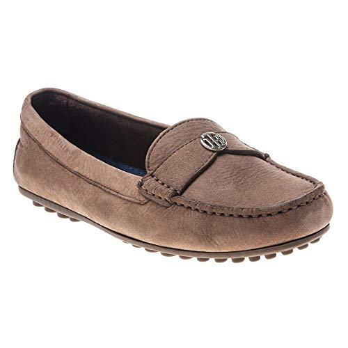Tommy Hilfiger Chain Moccasin Damen Schuhe Beige