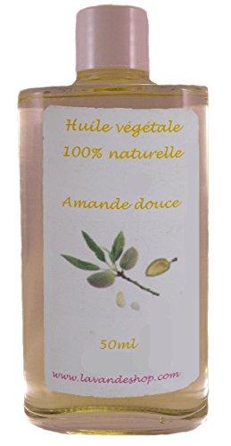 Huile Végétale d'Amande Douce vierge 50ml