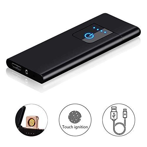 Accendino Elettrico, Nuova Tecnologia - Accendino Antivento Elettrico Accendino USB Ricaricabile,...