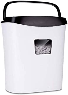 ACQUIRE White Shredder -Low Noise Heavy Duty High Security Level Micro Cut Paper Home Office Shredder Pullout Waste Bin