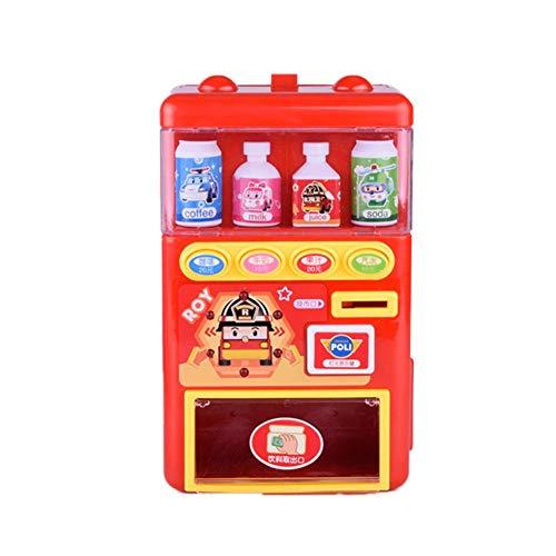 Erfula Automaten-Spielzeug,Kind Puzzle Haus Spielzeug Automatik Automaten Simulation Supermarkt Münze Getränkemaschine Für Jungen Und Mädchen
