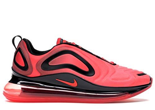 Nike Mens Air Max 720 Bright Crimson/Black/Ember Glow Mesh Running Shoes 10 M US