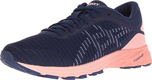 ASICS Women's Dynaflyte 2 Running Shoes, 7.5M, Indigo Blue/White/Begonia Pink