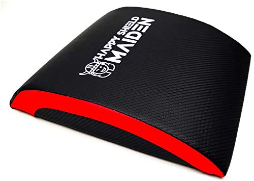 Ab Exercise Mat - Sit Up Pad - Abdominal & Core Trainer Mat for Full Range of Motion - Perfect for MMA, Home Gym, Gymnastics, Functional Fitness WODs