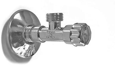 Bossini rubinetto sottolavabo in ottone MADE IN ITALY Ottone, 1//2 X 3//8