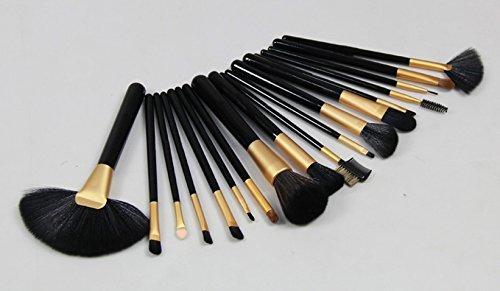 Amazing2015 18 PCS Professional Makeup Cosmetic Brush Set Kit + Black Pouch Bag Case by Amazing2015