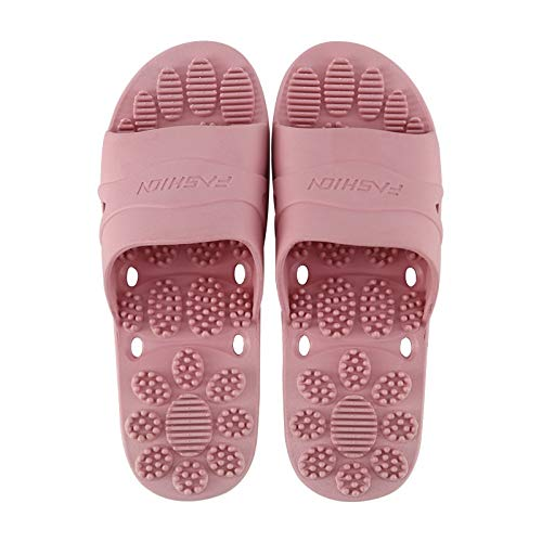 NKCTF-Massage Shoes Zapatillas de Masaje de acupresión - Zapatillas de Masaje de Terapia magnética de Punto de acupuntura Cuidado de pies sanos Masajeador Imán Zapatos for Hombres Mujeres