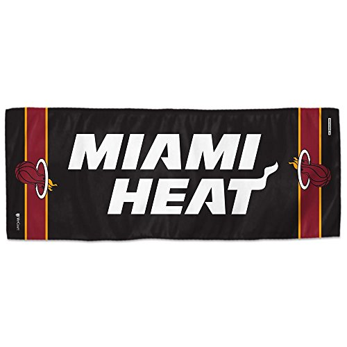 Mission NBA Team Enduracool Toalla de Microfibra, Miami Heat, 30,5 x 76,2 cm