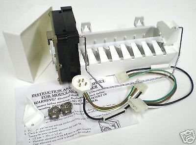 Pokin 4317943 Refrigerator Icemaker Ice Maker for Whirlpool ...