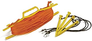 Tandem Sport Rope Volleyball Court Lines - Orange - 1/4 inch rope