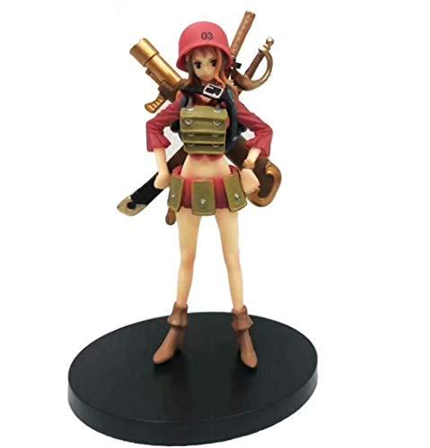 MNZBZ One Piece Z Forte Gruppo Nemico Serie Z Che combatte la Mano di Namei per Fare Ornamenti Modello Collezione di Modelli Regali di Natale