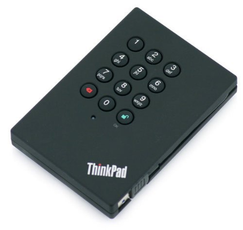 Lenovo 0A65619 ThinkPad Secure 500 GB External (Refurbished)