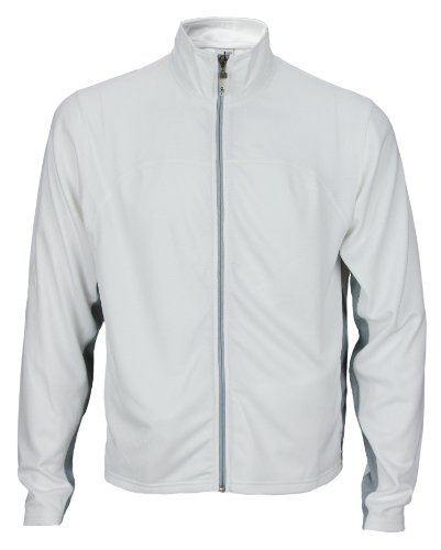 Alo Yoga Men's Light Weight Runners Jacket White