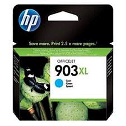 HP 903XL T6M03AE Cartuccia Originale per Stampanti a Getto di Inchiostro, Compatibile con OfficeJet 6950, OfficeJet Pro 6960 e 6970, Ciano