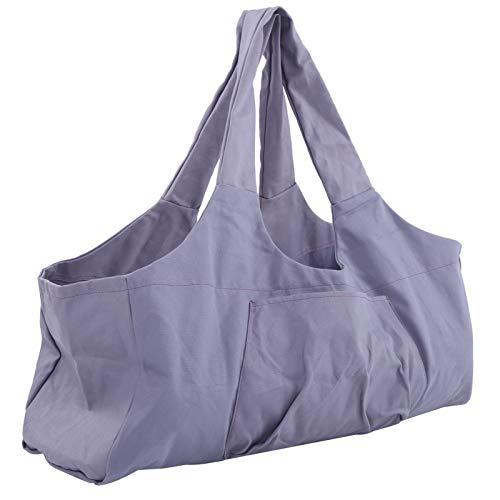Transpirable De Gran Tamaño De Yoga Paquete De Equipaje De La Bolsa De La Gimnasio Ropa De Viaje Accesorio Púrpura