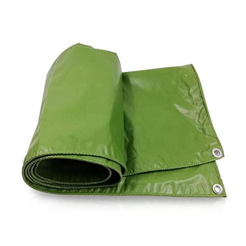 NEVY Dekzeil - Dikke PVC Vlamvertragend Dekzeil - Regendicht Waterdicht Zonnescherm Tuin Grote Mechanische Cover Doek 4.8 × 4.8m