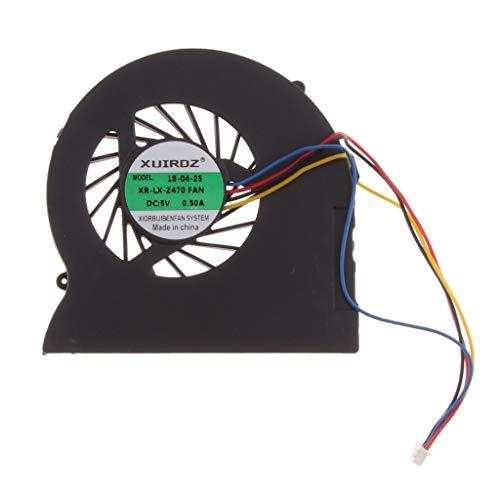 IPOTCH Ventilador CPU para Computadora Portátil Ideapad Z470 Z470A
