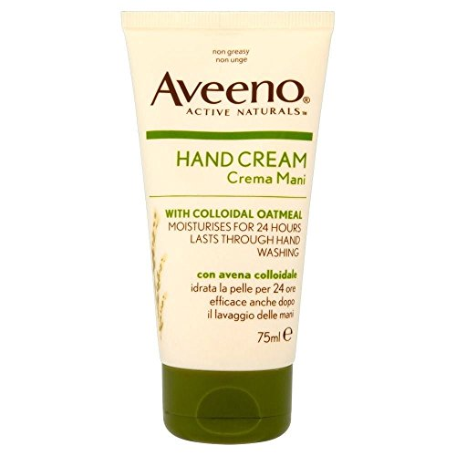 Aveeno Intensive Relief Hand Cream with Oatmeal (75ml) - Pack of 2