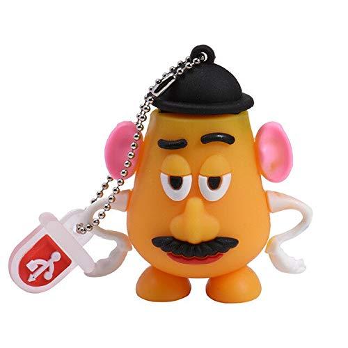 USB Memory Stick Keyring Gift Stylish Cartoon Toy Flash Drive 64GB 32GB 16GB Drive Mini Present 2A