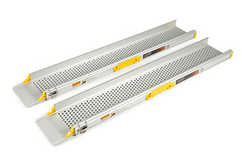 The Ramp People TRP107 Telescopic Economy Wheelchair Channel Ramps 6ft