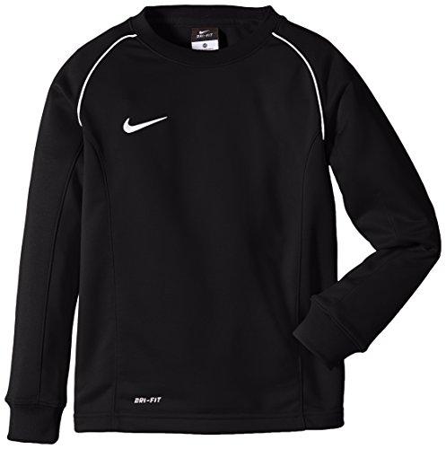 Nike Herren Long Sleeve Top Found 12 Midlayer Sweatshirt, Black/White, S