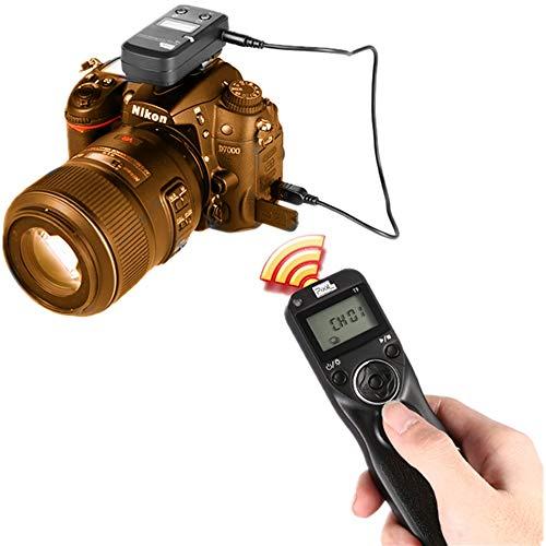Pixel T9-S1 / S2 LCD con Cable/inalámbrico Disparador Remoto Temporizador Remoto Control Remoto Compatible para Sony A560 / A580 / A390 / A450 / A500 / A550 / A850 / A900 / A350 / A200 / A58