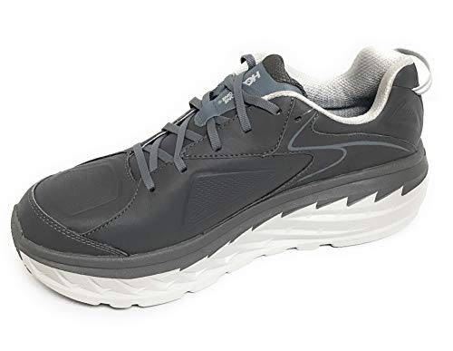 Hoka One M Bondi LTR Charcoal Running Shoes Mens 12