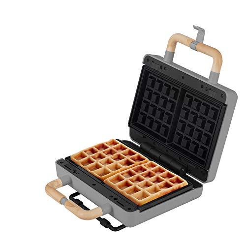 IKOHS Stone 3-Way Sandwichmaker mit austauschbaren Platten grau