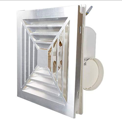 JYJZHX HQSBQISHAN Ventilador de Escape de 6 Pulgadas, hogar, baño, Inodoro, Cocina, Ventilador de bajo Ruido, Extractor de Pared, Tubo de Escape, Ventilador