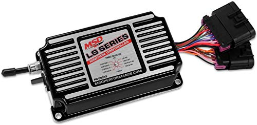 MSD Ignition 60143 Controller; LS Ignition; for Both 24x and 58x Crank Trigger Engines; Black;