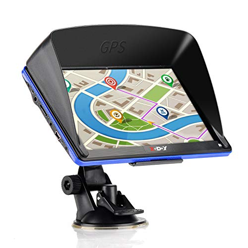 Review Of Xgody GPS Navigation Systems for Car, 7 Inch HD Touch Screen 8GB Android Vehicle GPS Navig...