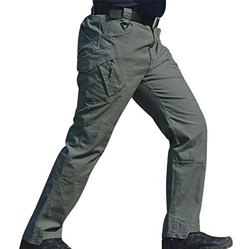 Chagoo 2021 Upgraded Tactical Waterproof Pants L Verde
