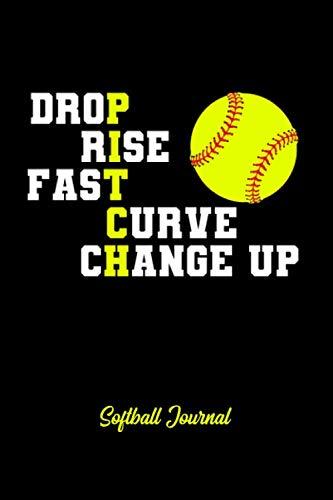 Softball Journal: Softball Notebook for Catcher / Pitcher Girls Training Journal at Sports, High School, College, University [Dotgrid]