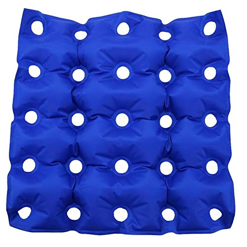 Prawing Anti-Dekubitus Dekubitus Aufblasbares Kissen Stuhl Meditation Pad Geeignet for Home-Office-Auto Rollstuhl Sitzkissen (Color : Blue)