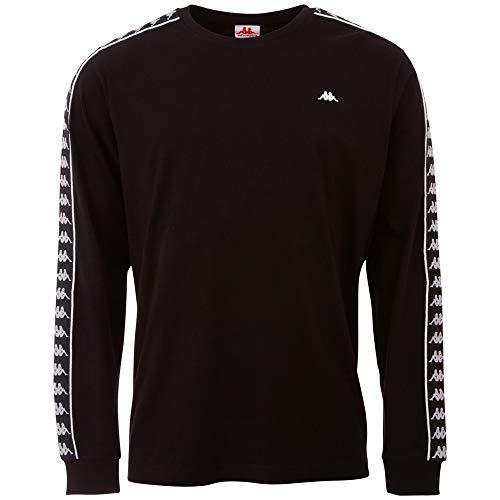 Kappa HAIMO, T-Shirt Uomo, Caviale, M