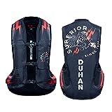 YXYECEIPENO Chaleco De Moto con Airbag Chaleco con Airbag Ecuestre Utilizado para Andar En Motocicleta Al Aire Libre Y Montar A Caballo. (M-2XL) Equipo de Ciclismo (Color : Black, Tamaño : XXL)