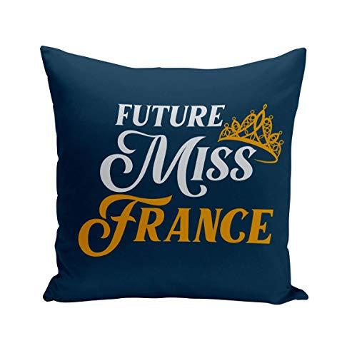 Coussin 40x40 cm Future Miss France Enfant Beauté
