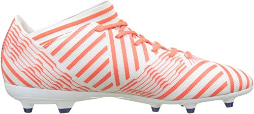 adidas Damen Nemeziz 17.3 FG Fußballschuhe, Weiß (Footwear White/Mystery Ink/Easy Coral), 37 1/3 EU