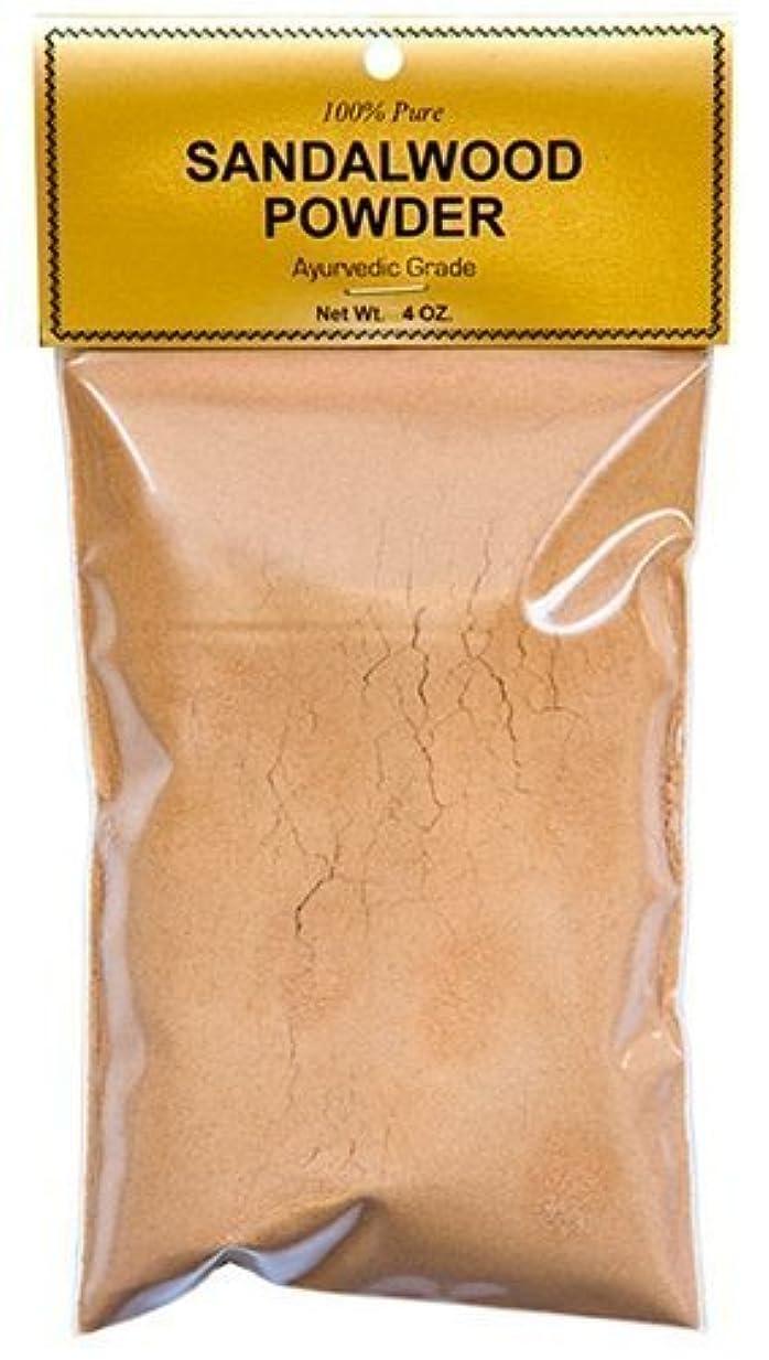 露出度の高いスチュワードバングラデシュPure Sandalwood Powder - Four Ounce Bag by Sandalwood [並行輸入品]