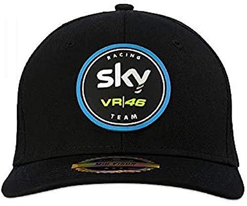 Vr46 Valentino Rossi SKMCA371804 Herren Kappe, Schwarz, Einheitsgröße
