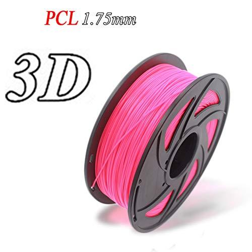 L-SLWI Lot de 2 stylos à encre 3D pour imprimante PCL basse température d'impression 1,75 mm de fil 3 kg 330 m Violet